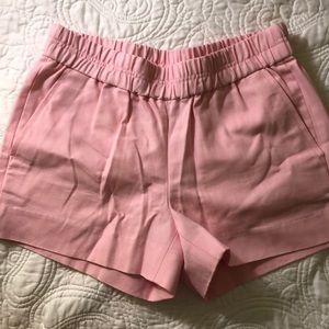 J. Crew Pastel Pink 🌸 Shorts Size 00